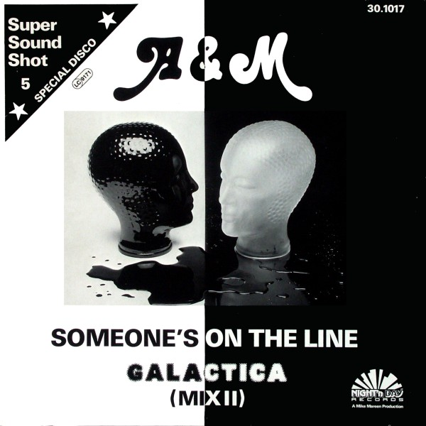 A & M - Someone's On The Line - Maxi x 1
