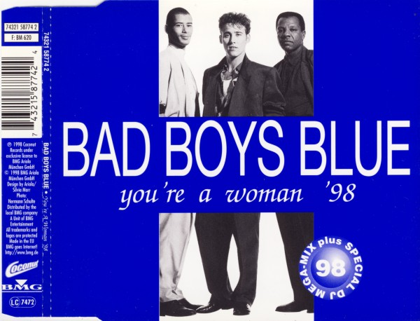 BAD BOYS BLUE - You're A Woman '98 - MCD