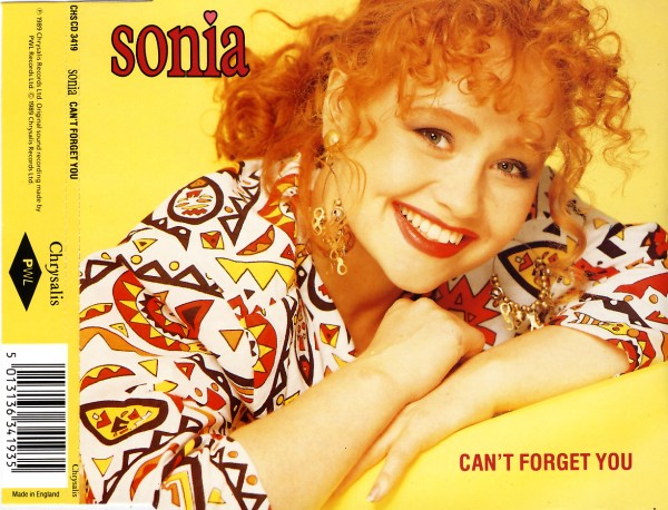 SONIA - Can't Forget You - MCD