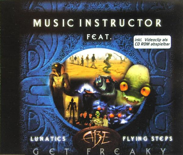 MUSIC INSTRUCTOR - Get Freaky - CD Maxi