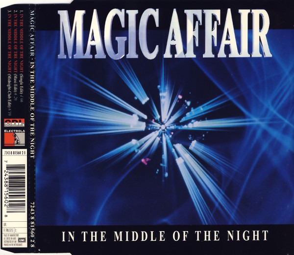 MAGIC AFFAIR - In The Middle Of The Night - MCD