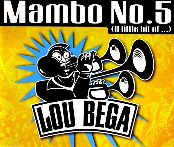BEGA, LOU - Mambo No. 5 (A Little Bit Of...) - CD Maxi