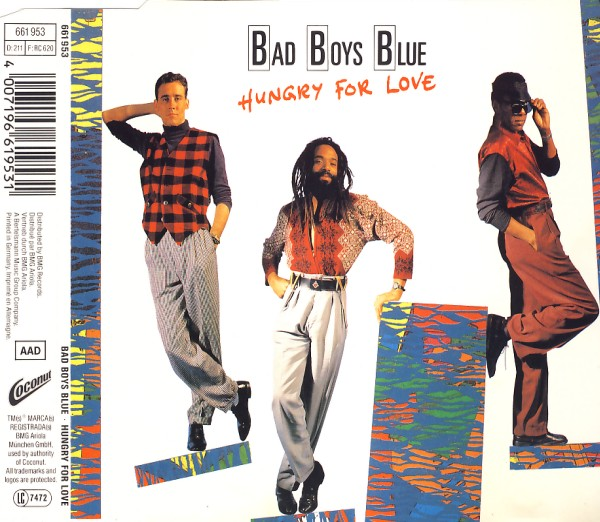 BAD BOYS BLUE - Hungry For Love - MCD