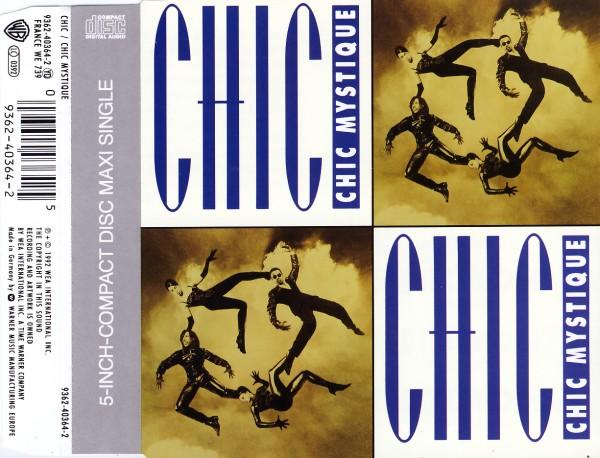 CHIC - Chic Mystique - CD Maxi