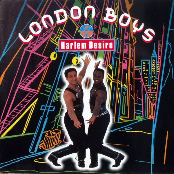LONDON BOYS - Harlem Desire - Maxi x 1