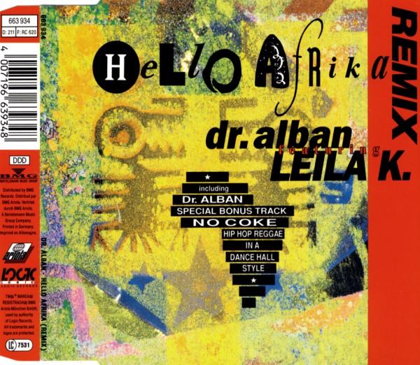 DR. ALBAN FEAT. LEILA K. - Hello Afrika - CD Maxi