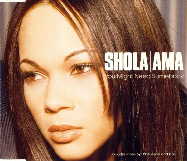 AMA, SHOLA - You Might Need Somebody - MCD