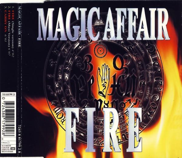 MAGIC AFFAIR - Fire - CD Maxi
