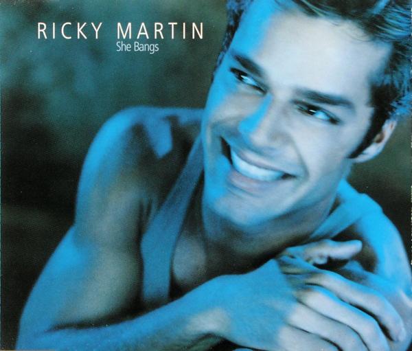 MARTIN, RICKY - She Bangs - MCD