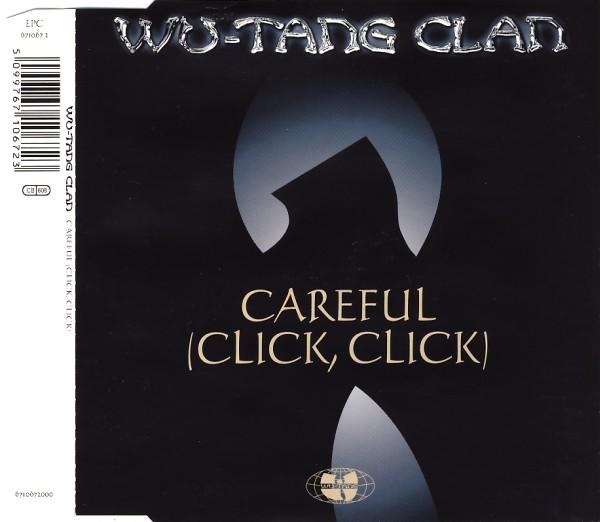 WU-TANG CLAN - Careful (Click, Click) - CD Maxi