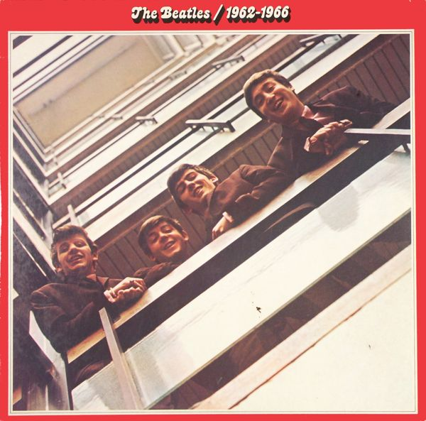 beatles 1962-1966 (red album)
