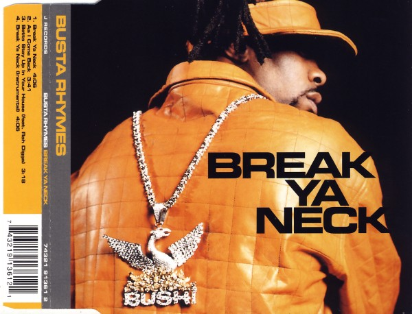 BUSTA RHYMES - Break Ya Neck - CD Maxi
