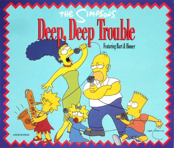 SIMPSONS - Deep, Deep Trouble - CD Maxi