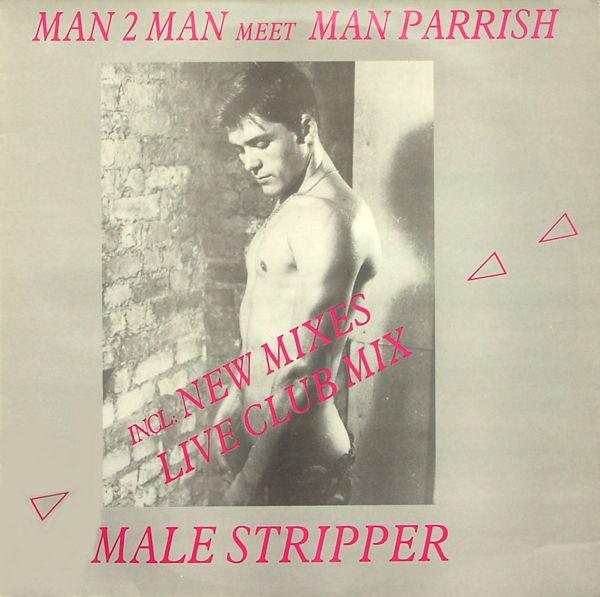 MAN 2 MAN MEET MAN PARRISH - Male Stripper - 12 inch x 1