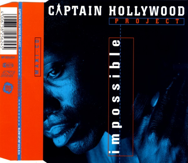 CAPTAIN HOLLYWOOD PROJECT - Impossible - CD Maxi