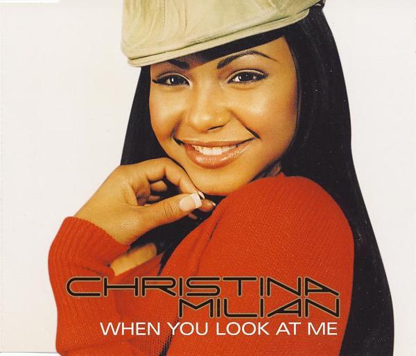 MILIAN, CHRISTINA - When You Look At Me - CD Maxi