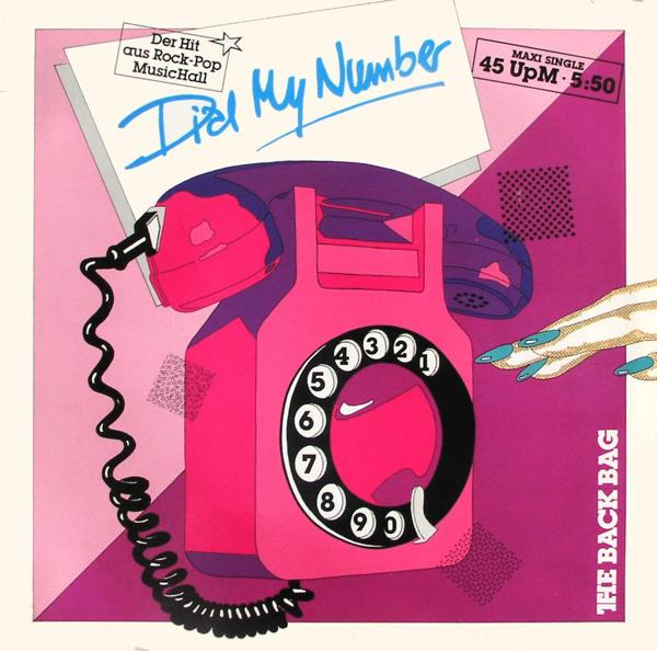 BACK BAG - Dial My Number - Maxi x 1
