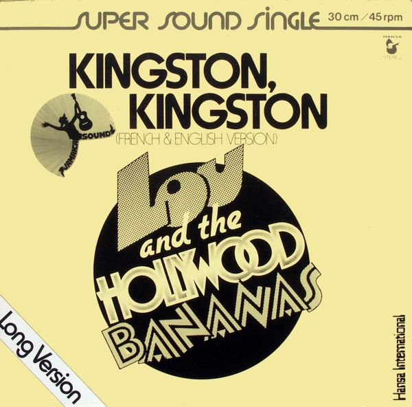 LOU & THE HOLLYWOOD BANANAS - Kingston, Kingston - Maxi x 1