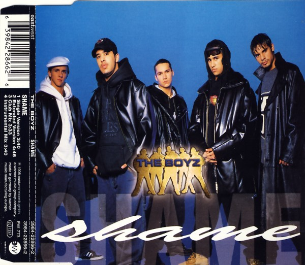 BOYZ - Shame - CD Maxi