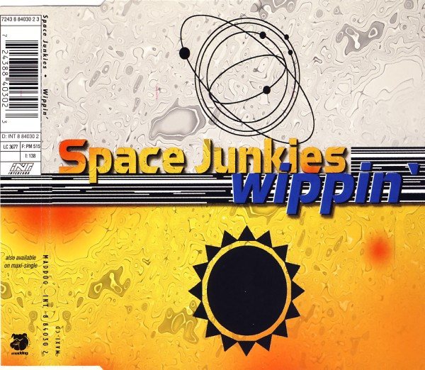 SPACE JUNKIES - Wippin' - CD Maxi