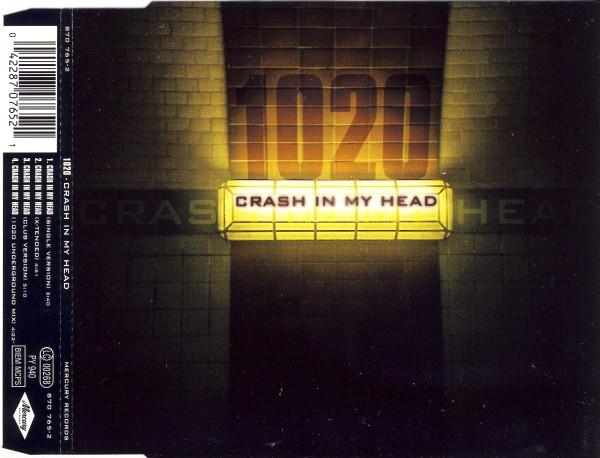 1020 - Crash In My Head - CD Maxi
