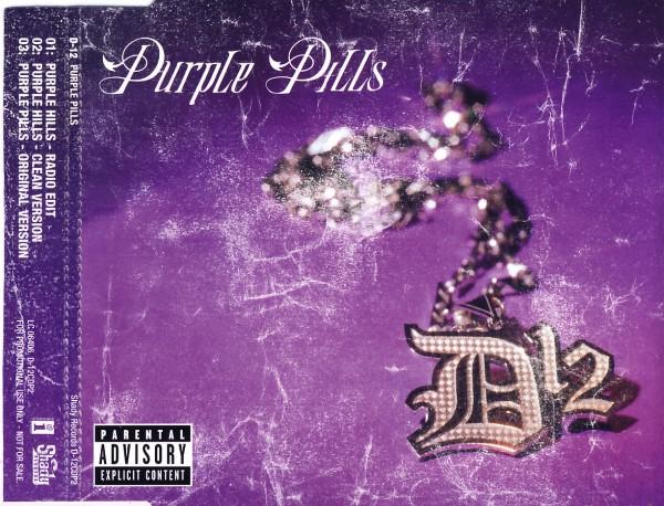 D 12 - Purple Pills - CD Maxi