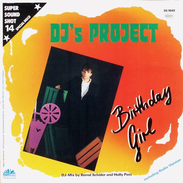 DJ'S PROJECT - Birthday Girl - 12 inch x 1
