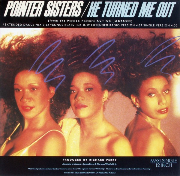 POINTER SISTERS - He Turned Me Out - Maxi x 1