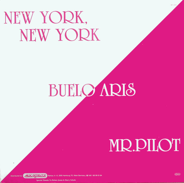 BUELO ARIS - New York, New York / Mr. Pilot - Maxi x 1