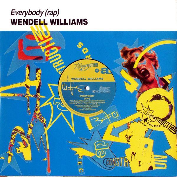 WILLIAMS, WENDEL - Everybody (Rap) - Maxi x 1