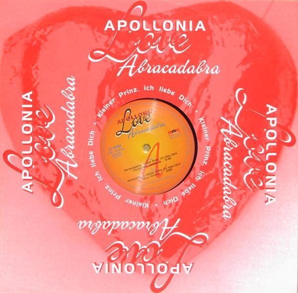APOLLONIA LOVE - Abracadabra, Kleiner Prinz Ich Liebe Dich - 12 inch x 1
