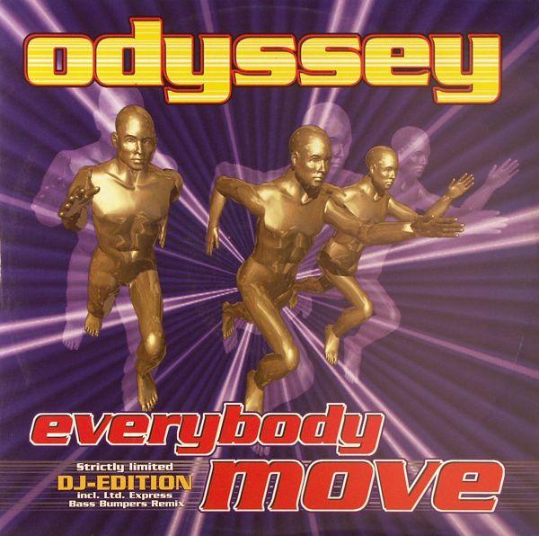 ODYSSEY - Everybody Move - 12 inch x 1