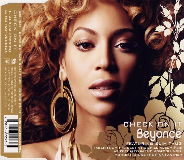 BEYONCE - Check On It (feat. Slim Thung) - MCD