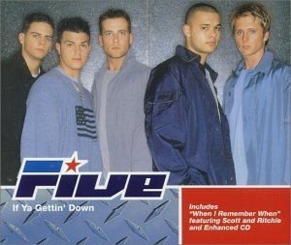 FIVE - If Ya Gettin' Down - CD Maxi