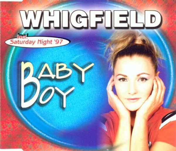 WHIGFIELD - Baby Boy - CD Maxi