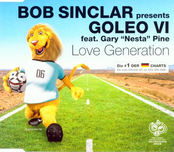 SINCLAR, BOB - Love Generation - MCD