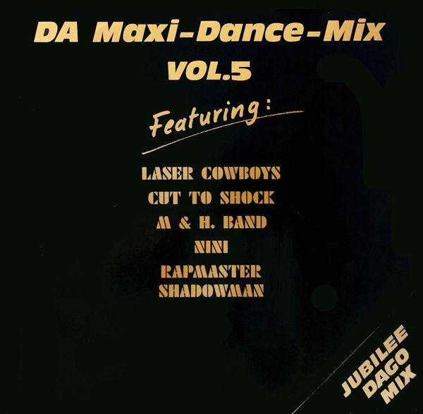 VARIOUS - DA-Maxi-Dance-Mix Vol. 5 - 12 inch x 1