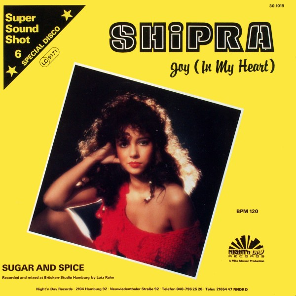 SHIPRA - Joy (In My Heart) - 12 inch x 1