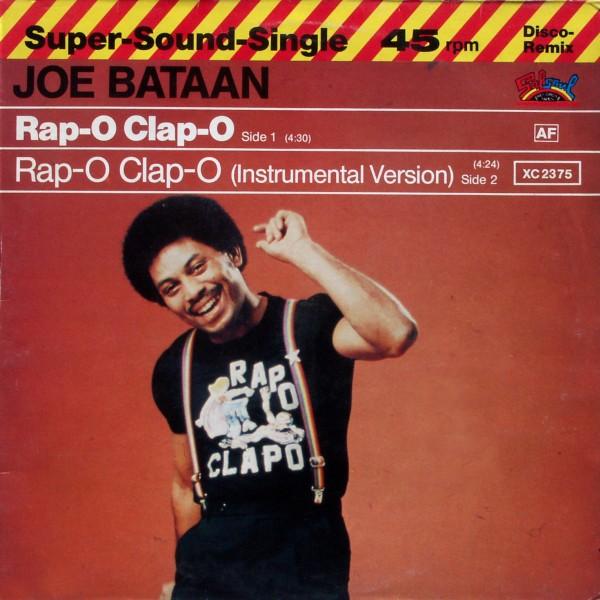 BATAAN, JOE - Rap-O Clap-O - Maxi x 1