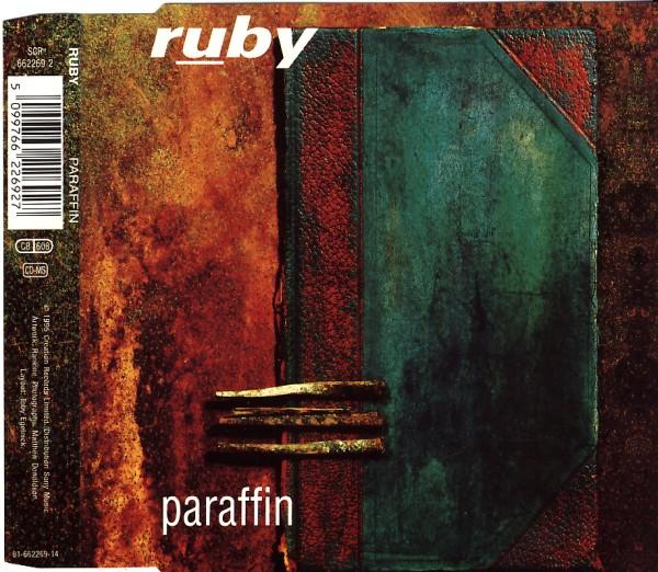 RUBY - Paraffin - CD Maxi