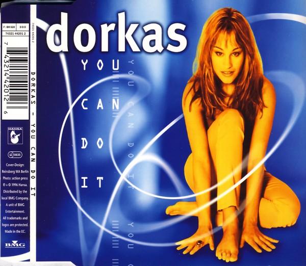 DORKAS - You Can Do It - CD Maxi