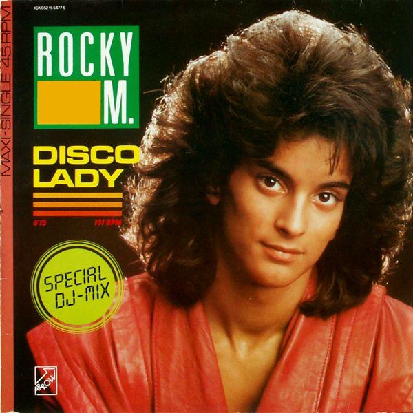 ROCKY M. - Disco Lady - Maxi x 1