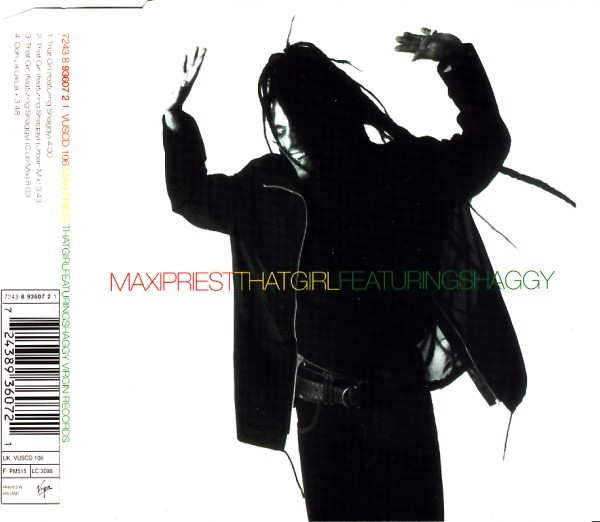 MAXI PRIEST FEAT. SHAGGY - That Girl - CD Maxi