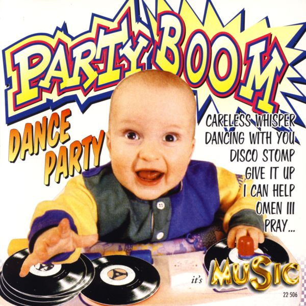 VARIOUS - Party Boom, Dance Party - CD