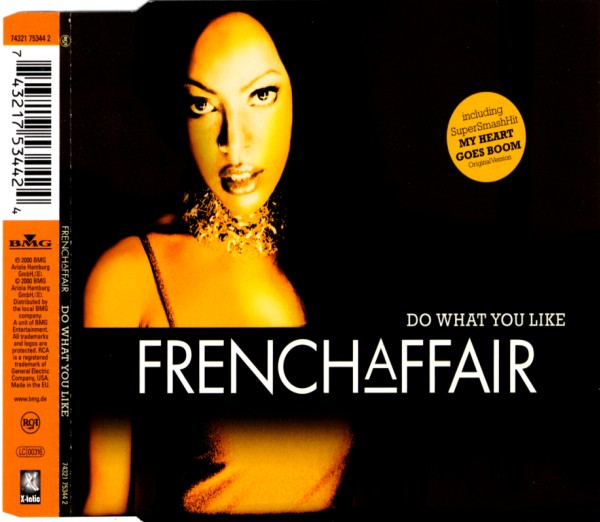 FRENCH AFFAIR - Do What You Like - MCD