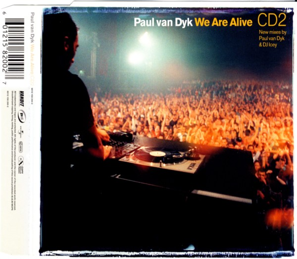 VAN DYK, PAUL - We Are Alive - CD Maxi