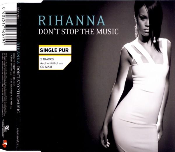 RIHANNA - Don't Stop The Music - MCD
