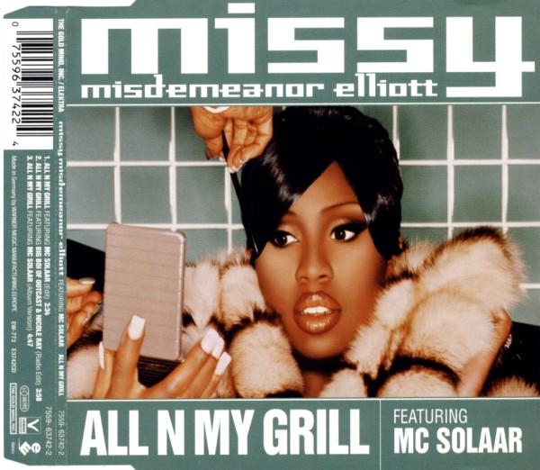 MISSY ELLIOTT FEAT. MC SOLAAR - All N My Grill - CD Maxi