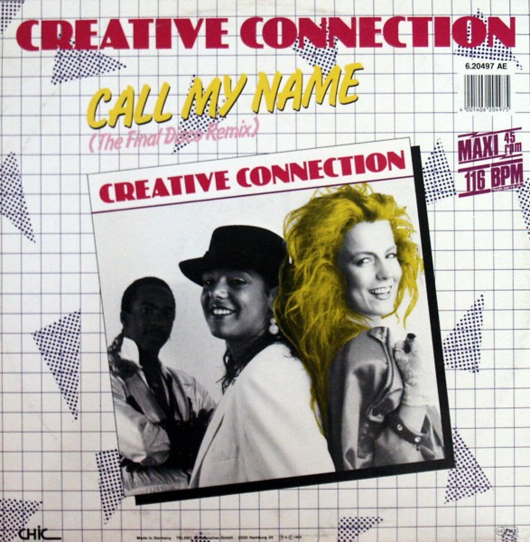 CREATIVE CONNECTION - Call My Name - 12 inch x 1