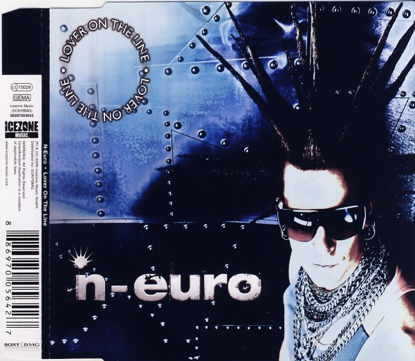 N-EURO - Lover On The Line - CD Maxi